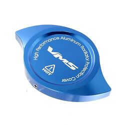Vms Blue Anodized Billet Aluminum Radiator Cap Cover Cnc Machined Universal Si