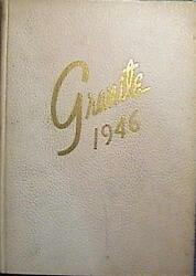 Rare 1946 University Of New Hampshire Yearbook/annual Durham Nh Very Good Cond