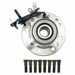 Timken Wheel Bearing And Hub Assembly Front 4wd For 8 Lug Wheels Driver Side