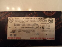 Pratt And Whitney R2800 Guide New Condition P/n 166282p40