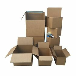 Uboxes 1 Room Wardrobe Moving Kit 10 Packing Boxes And Moving Supplies