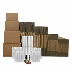 8 Room Basic Moving Kit 113 Boxes And 128 In Packing Supplies.