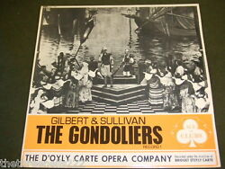 Vinyl Lp - Gilbert And Sullivan The Gondoliers Lp 1 - Dand039oyly Carte - Acl 1151