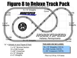 Lionel Fastrack Figure 8 To A Deluxe Track Pack Add-on Pack Eight 90 Layout New