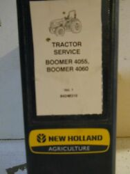 New Holland Agriculture Boomer 4055 4060 Tractor Service Repair Manual