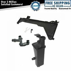 Radiator Overflow Tank Mounting Plate Distribution Pipe Kit For Bmw 3 Series At