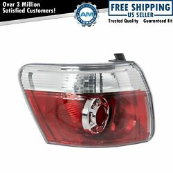 Tail Light Taillamp Left Outer Driver Side Lh For 2007-2012 Gmc Acadia
