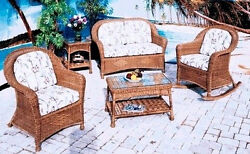 All Weather Outdoor Wicker - Plymouth Porch Set Of 4
