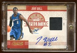 2010 Treasures John Wall Rc Auto Patch D 06/10 Prime Patch Logo Hot Rc Wizards