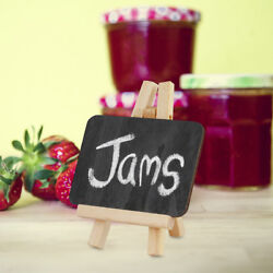 Mini Easel Chalk Boards - Wedding Place Name Black Board - Cafe Table Number