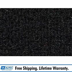 For 86-95 Suzuki Samurai Without Roll Bar Cutpile 801-black Complete Carpet Mold