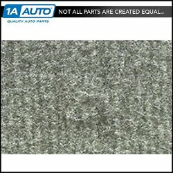 For 87-95 Voyager Cutpile 4666 Smoke Gray Complete Extended Carpet Molded