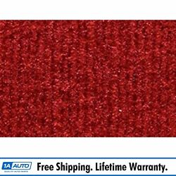 For 1978-79 Ford Bronco Cutpile 8801-flame Red Cargo Area Carpet Molded