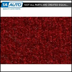 For 1985-94 Chevy Astro Cutpile 815-red Cargo Area Carpet Molded