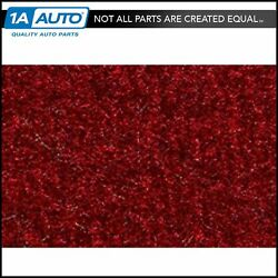 For 1990-95 Chevy Astro Cutpile 815-red Extended Cargo Area Carpet Molded