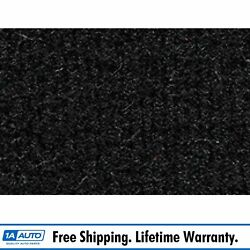 For 1981-89 Plymouth Reliant 4 Door Cutpile 801-black Complete Carpet Molded