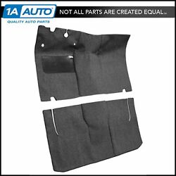 For 1952-54 Ford Victoria 2 Door Cut And Sewn 80/20 Loop 01-black Complete Carpet