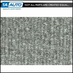 For 1976-80 Plymouth Volare 4 Door Cutpile 8046-silver Complete Carpet Molded