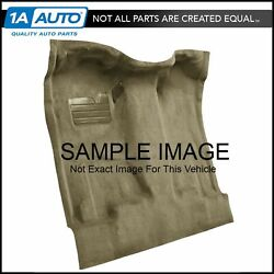 For 04-12 Chevy Colorado Extended Cab Cutpile 1251-almond Complete Carpet Molded