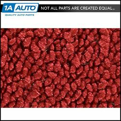 For 55-56 Ford Fairlane 2 Door Post Cut And Sewn 80/20 Loop 02-red Complete Carpet