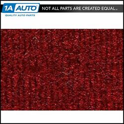 For 1981-89 Plymouth Reliant 4 Door Cutpile 4305-oxblood Complete Carpet Molded