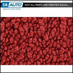 For 1967-72 Chevy Suburban C10 80/20 Loop 02-red Cargo Area Carpet Molded