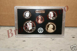 2014-s + 2013-s Us Mint Silver Proof Kennedy Dime Penny Nickel Dollar 10 Coins
