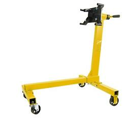 Jegs 80040 Engine Stand 1000 Lbs Capacity 360 Degree Head Motor Stand