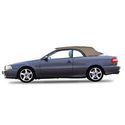 Volvo C70 Convertible Soft Top Replacement And Glass Window 1999-06 Beige Stayfast