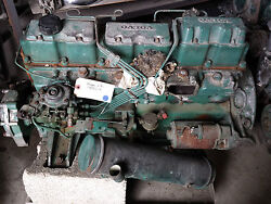 Volvo Engine With Accessories