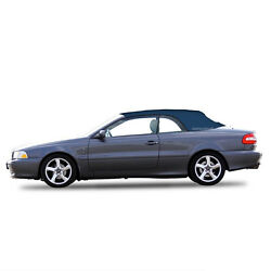 Volvo C70 Convertible Sof Top Replacement And Glass Window 1999-06 Blue Stayfast