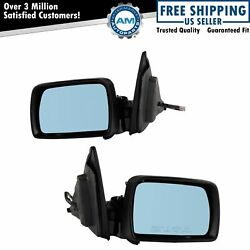 Power Heated Memory Side View Mirrors Power-folding Pair Set For 00-06 Bmw X5