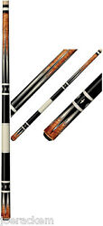 New Players G-4115 Pool Cue - Antique-stained - Free Jt Caps Q Wiz And Us Ship