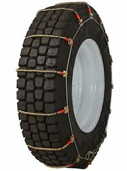 Quality Chain 2341 King Cobra Cable Tire Chains Snow Traction Commercial Truck
