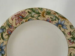 Royal Doulton Everyday Jacobean Pattern 1216 Salad Plate 8 Excellent