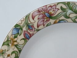 Royal Doulton Everyday Jacobean Pattern 1216 Dinner Plate 10-5/8 Excellent