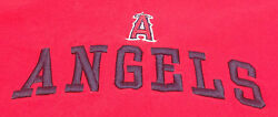 Mens 2xl T-shirt Angels A Stitched Red Lee Sport Cotton Xxl Halo 54 Baseball