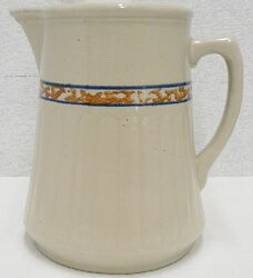Red Wing Pottery Gray Line Water Pitcher