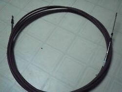 1 - NOS 22 Ft. Long Morse Red Jacket Supreme Model M6263 PushPull Control Cable