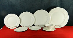 92-pcs Or Less Of Vintage Pope-gosser Rose Point Pattern China Early Mark