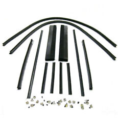 1938 1939 Ford Pickup Truck Door Window Channel Kit And03938 And03939 Set Does Both Doors