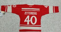 Detroit Red Wings Youth Jersey 2014 Winter Classic Jersey 40 Zetterberg Or 35