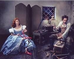 Amy Adams And Tim Burton Signed Autographed 8x10 Photograph