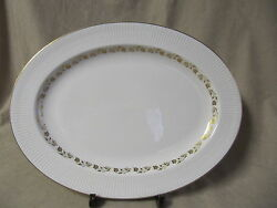 Royal Doulton Fairfax 16 Oval Serving Platter In Excellent Condition