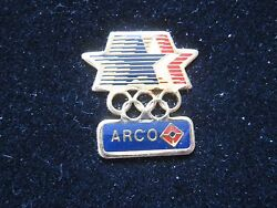 Arco Gas Station Stars In Motion Sponsor Olympic Los Angeles Pin New