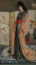The Princess From The Land Of Porcelain James Mcneill Whistler Adel B A3 02374