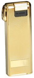 Im Corona Japan Pipemaster Gold Plated Brass Electronic Pipe Lighter New