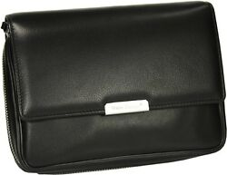Martin Wess Germany Onyx Nappa Leather 4 Pipe Bag New In Box