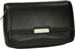 Martin Wess Germany Onyx Nappa Leather 3 Pipe Bag New In Box