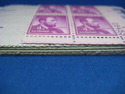 20 MINT Never Hinged OLD US PLATE BLOCKS Stamps Collection  Plate Blocks
